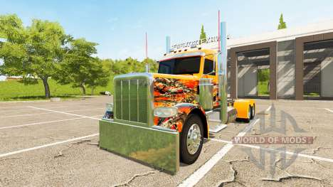 Peterbilt 388 Day Cab para Farming Simulator 2017