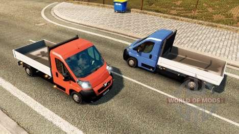 Peugeot Boxer captación de tráfico para Euro Truck Simulator 2
