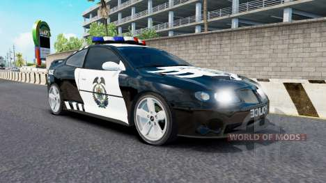 El tráfico NFS most Wanted v2.0 para American Truck Simulator