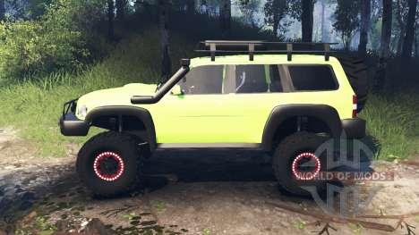 Nissan Patrol v3.0 para Spin Tires