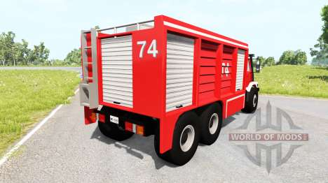 ETK 6200 [fire truck] para BeamNG Drive
