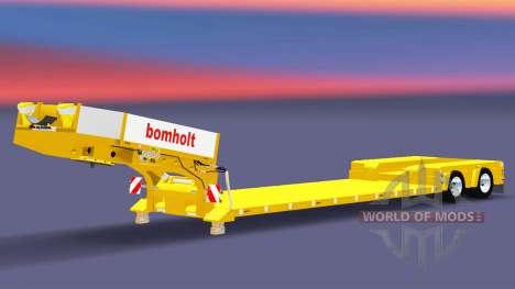 Bajo la cama de arrastre de la Muñeca Bomholt para Euro Truck Simulator 2