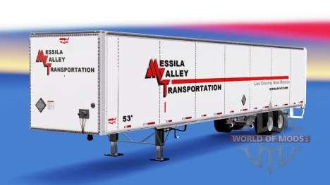 Remolque Wabash para American Truck Simulator