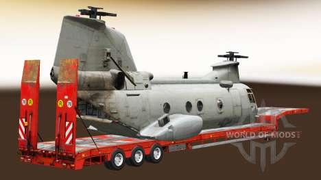 Semi llevar equipo militar v1.5 para Euro Truck Simulator 2