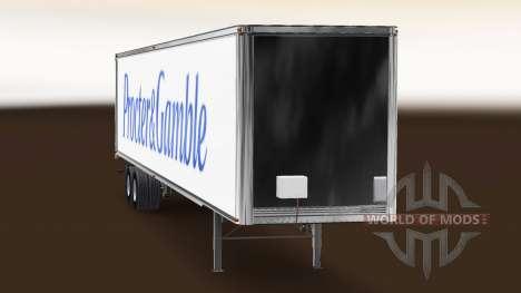 La piel Procter & Gamble remolque para American Truck Simulator