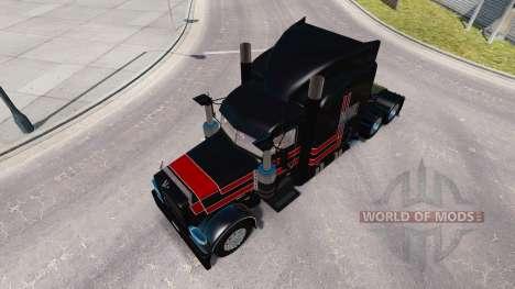 La piel JPC Rancho para el camión Peterbilt 389 para American Truck Simulator