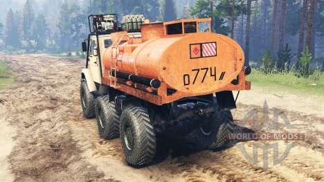 ZIL-4972 para Spin Tires