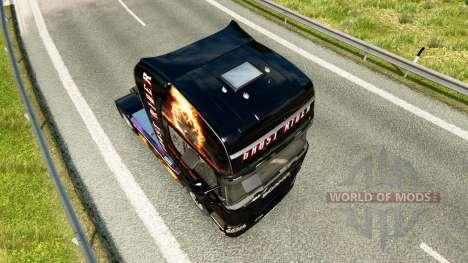 Ghost Rider piel para Scania camión para Euro Truck Simulator 2