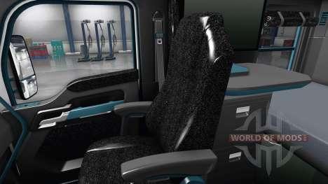 Interior de la Esfera Azul para Kenworth T680 para American Truck Simulator