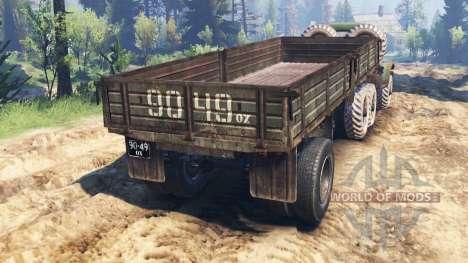 ZIL-157 v3.0 para Spin Tires