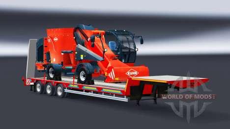Una colección de bajos marco de las redes de arr para Euro Truck Simulator 2