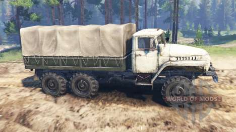 Ural-4320-01 para Spin Tires