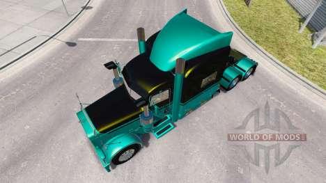 4 Metálico de la piel para el camión Peterbilt 3 para American Truck Simulator