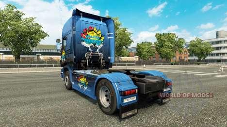 El desastre de Transporte de la piel para Scania para Euro Truck Simulator 2