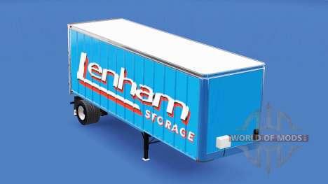 La piel Lenham en el remolque para American Truck Simulator
