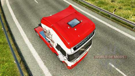 Sarantos de transporte de la piel para Scania ca para Euro Truck Simulator 2