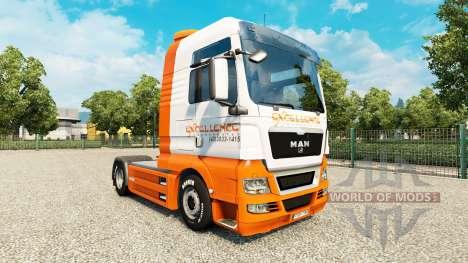 La excelencia de Transportes de la piel para el  para Euro Truck Simulator 2