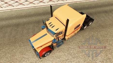 Peterbilt 389 v3.1 para Euro Truck Simulator 2
