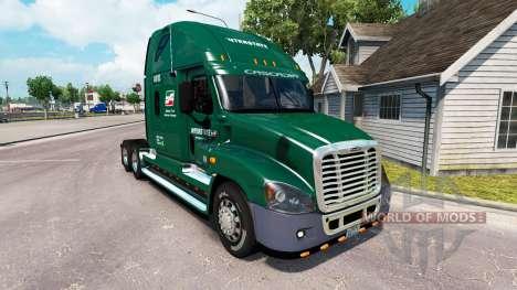 La piel, por la carretera INTERESTATAL camión Fr para American Truck Simulator