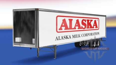 La piel de Alaska Leche de la Corporación en el  para American Truck Simulator