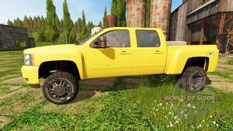 Chevrolet Silverado 3500 HD para Farming Simulator 2017