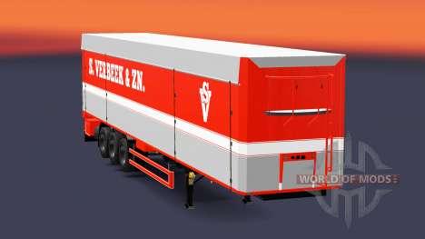 Bodex volquete semirremolque S. Verbeek y ZN. para Euro Truck Simulator 2