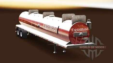 La piel de ExxonMobil en el tanque de ácidos para American Truck Simulator