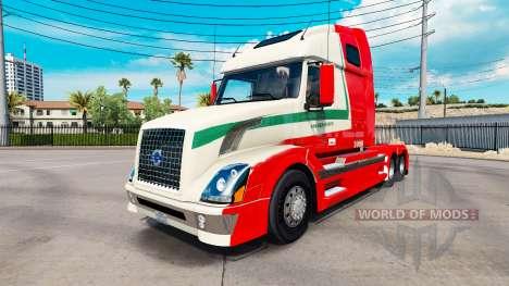 La piel De den Bosch para Volvo camión y EUROPA  para American Truck Simulator