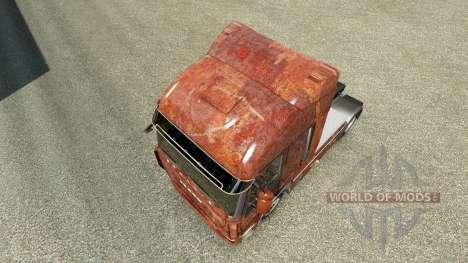 La piel Oxidado en el camión Iveco para Euro Truck Simulator 2