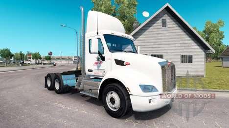 La piel Ace Bebidas en el tractor Peterbilt para American Truck Simulator