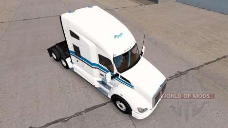 La piel Esquimal Express tractor Kenworth para American Truck Simulator
