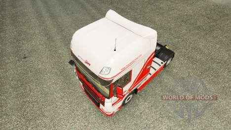 TruckSim de la piel para DAF camión para Euro Truck Simulator 2