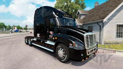 La piel en KTS camión Freightliner Cascadia para American Truck Simulator