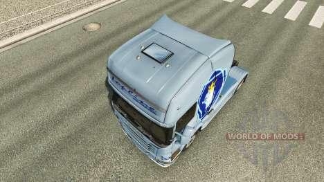 Simplemente la piel para Scania camión para Euro Truck Simulator 2