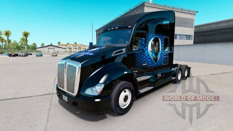 Alienware skin para Kenworth tractor para American Truck Simulator