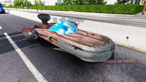 El tráfico desde el futuro para American Truck Simulator