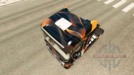 Mate de piel de Naranja para Renault camión para Euro Truck Simulator 2
