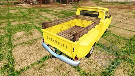 Chevrolet C10 Fleetside 1966 4x4 para Farming Simulator 2017