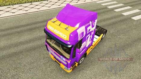 La piel Rensped para tractor Renault para Euro Truck Simulator 2