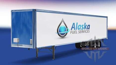 La piel de Alaska de Servicios de Combustible en para American Truck Simulator