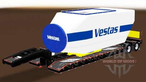 Baja de barrido con diferentes cargas v2.0 para American Truck Simulator