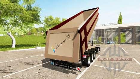 Schmitz Cargobull SKI 24 Pernille Holmboe para Farming Simulator 2017