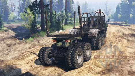 ZIL-130 de 6x6 v2.0 para Spin Tires