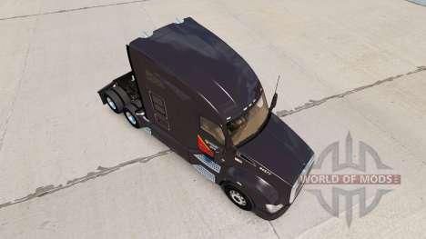 La piel Galón de combustible de los camiones Ken para American Truck Simulator