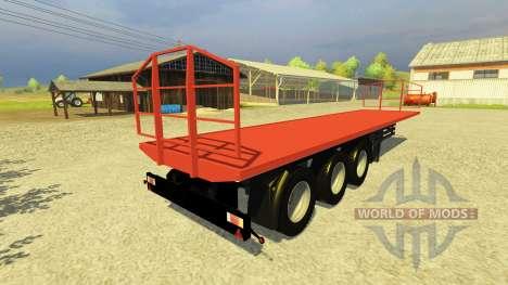 El Trailer Agroliner 40 para Farming Simulator 2013