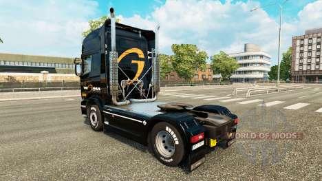 Tegma Logística de la piel para Scania camión para Euro Truck Simulator 2