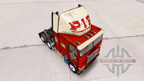 La piel de la EMPANADA en camión Freightliner FL para American Truck Simulator