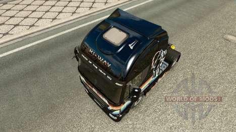 Rainbow Dash piel para Iveco tractora para Euro Truck Simulator 2