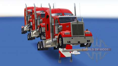 Los remolques de los tractores para American Truck Simulator
