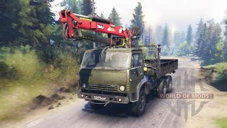 KamAZ-53212 v6.0 para Spin Tires